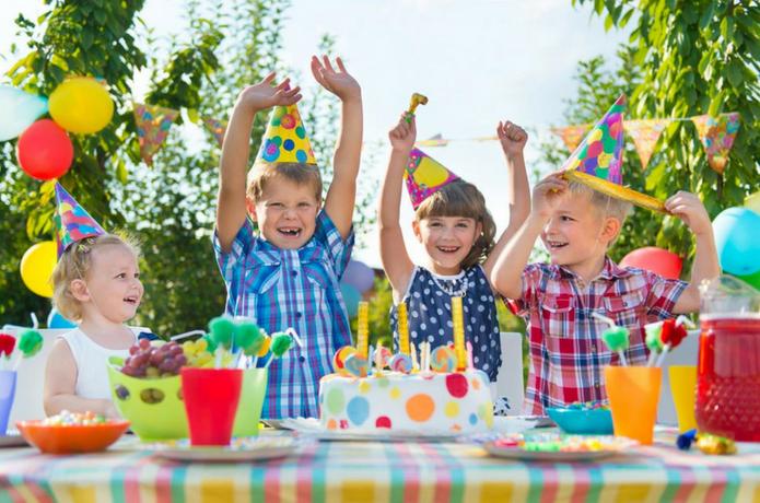 Cumpleaños infantil fiesta