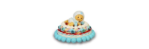 tarta bautizo bebé