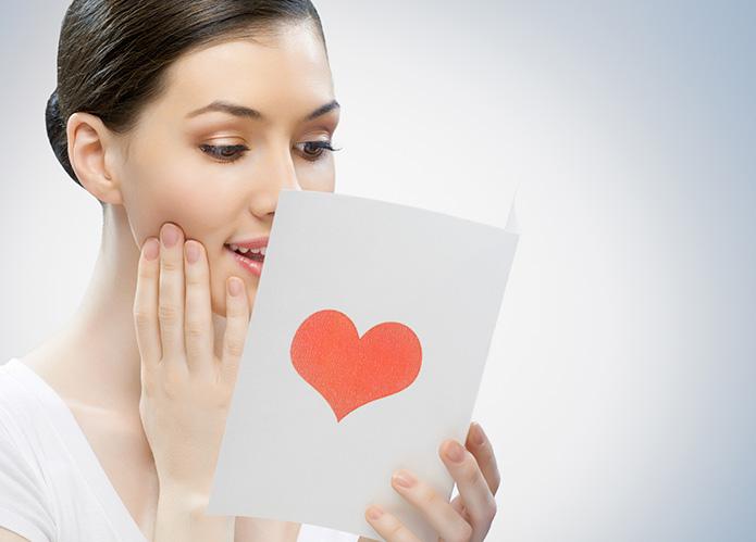 El mensaje de amor perfecto en su regalo