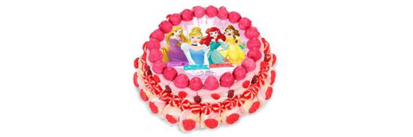 mensaje tarta princesas disney
