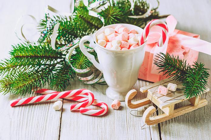 Golosinas de Navidad