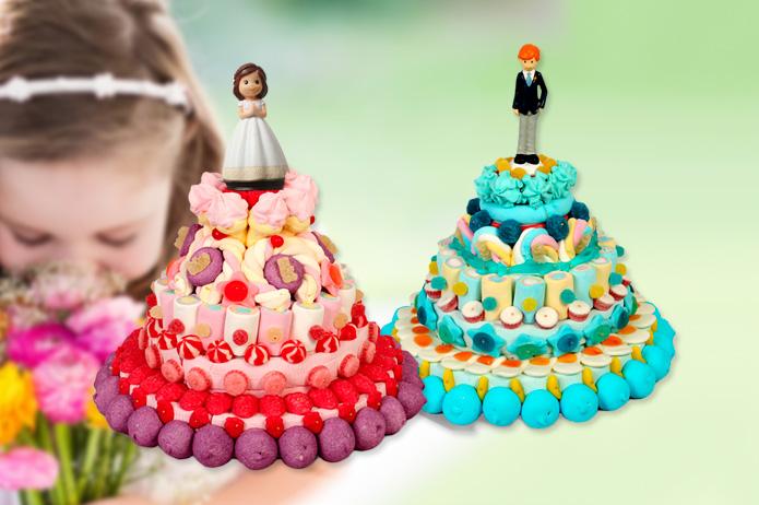 4 propuestas de mesas dulces para comuniones