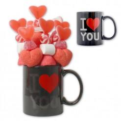 Taza Mágica de San Valentín