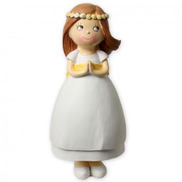Muñeca para tarta de Comunión niña