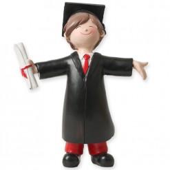 Figura graduación chico