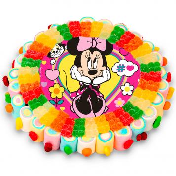 Tarta oblea Minnie Mouse