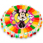 Tarta oblea Minnie Mouse