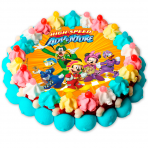 Tarta de chuches Mickey and Friends