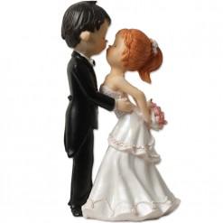 Figura de novios para tarta de boda