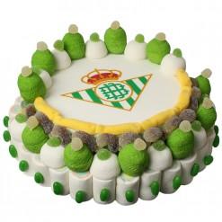 Tarta de cuches Real Betis