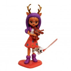 Figura mona Enchantimals Danessa Deer y Sprint PVC
