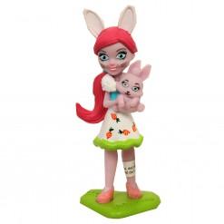 Figura mona  Enchantimals,Sancha Squirrel PVC