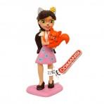 Figura mona Enchantimals Felicity Fox PVC