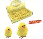 Pollitos amarillos mona