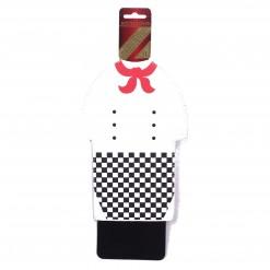 Cubrimiento para botella 1L blanco