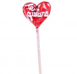 """Piruleta corazón """" Te quiero"""""""