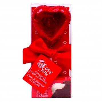 "Piruleta chocolate ""I love you"""