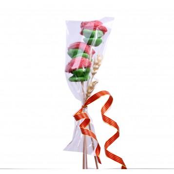 Pack 3 rosas Sant Jordi