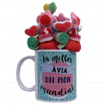 "Taza ""la millor àvia del món mundial"""