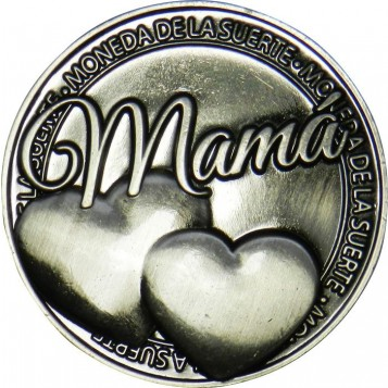 Llavero Moneda Mamá