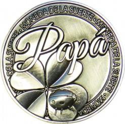 Llavero Moneda Papá