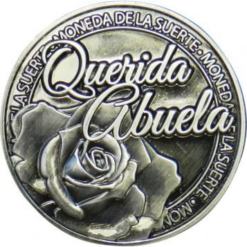 Llavero Moneda Querida Abuela