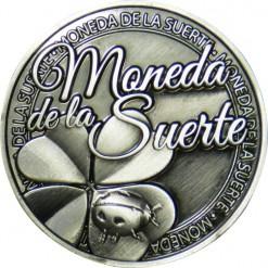 Llavero Moneda de la Suerte