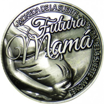 Llavero Moneda Futura Mamá