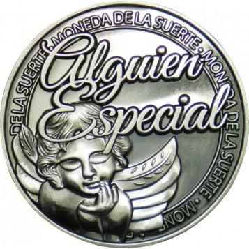 Llavero Moneda Alguien especial