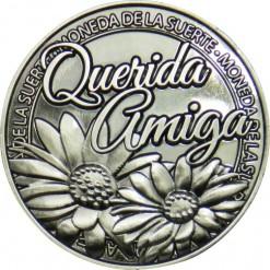 Llavero Moneda Querida Amiga