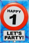Postal Cumpleaños números