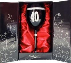 Copa vino negra 40 años