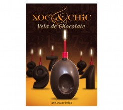 Vela Chocolate Nº0