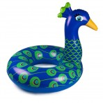 Hinchable Pavo Real