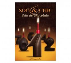 Vela Chocolate Nº1
