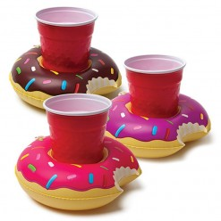 Donut 3 pack Beverage Boats