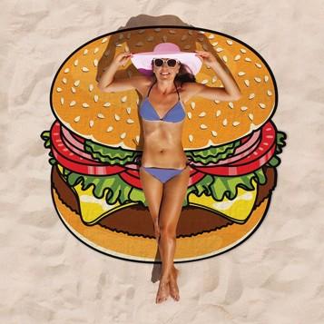 Toalla gigante hamburguesa
