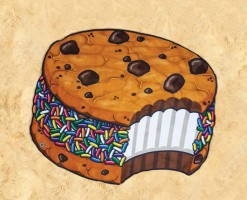 Toalla gigante Cookie