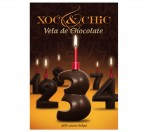 Vela Chocolate Nº3