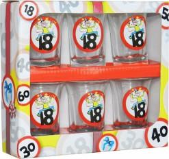 Set 6 chupitos 18