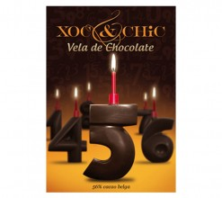 Vela Chocolate Nº5