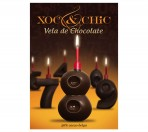 Vela Chocolate Nº8