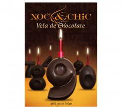 Vela Chocolate Nº9