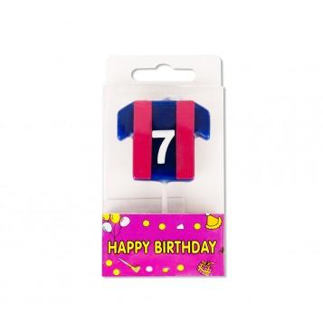 Vela Camiseta Azulgrana Nº7