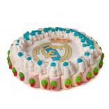 Tarta oblea Real Madrid