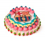 Tarta del Barça