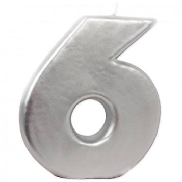 VELA BIG PLATA Nº 6