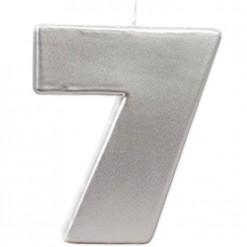 VELA BIG PLATA Nº 7