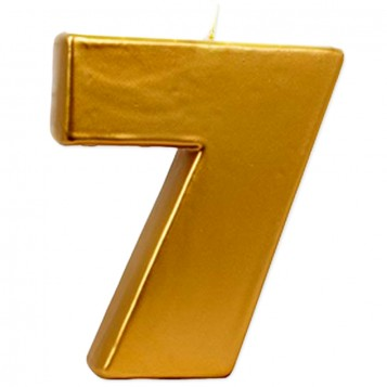 VELA BIG ORO Nº 7