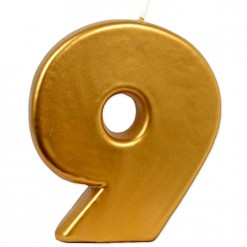 VELA BIG ORO Nº 9